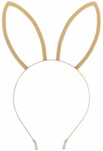 Bunny Ears Gold Metal