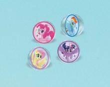 My Little Pony Bouncy Ball Favor 4pk