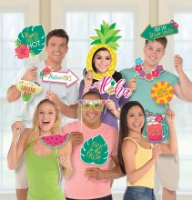 Aloha Jumbo Photo Prop Kit
