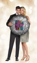 Inflatable New Years Disco Ball Prop