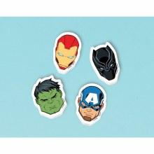 Avengers Eraser Favors 4pk