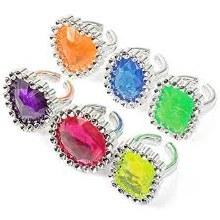 Jewel Ring Favors 18pk