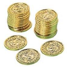 Gold Coins Favor Pack