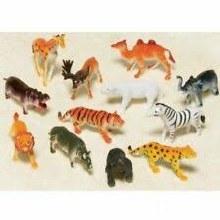 Jungle Animal Favors 12pk