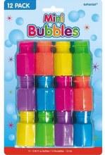 Mini Bubble Favors 12pk