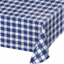 Blue Gingham Tablecover