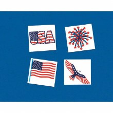 Patriotic Tattoos 24ct