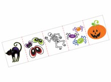 Halloween Tattoo Mega Pack 120ct