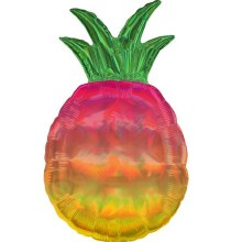 "Jumbo Iridescent Pineapple ~ 31"""