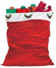 Santa Bag Velour