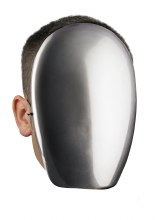 Mask No Face Chrome