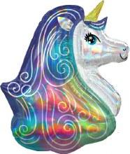 "Iridescent Rainbow Unicorn ~ 30"""