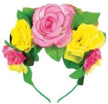 Headband Flower Dlx