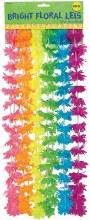 Lei Neon Rainbow Flower