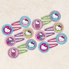 Hello Kitty Rainbow Hair Clips