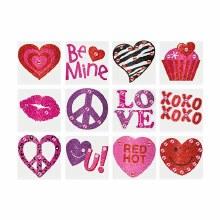 Valentine Body Jewel Favors