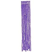 Beads Necklaces Purple 8pk