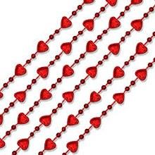 Mini Heart Bead Necklace 12pk