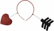Valentine Arrow Headband