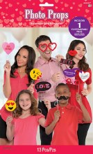 Photo Props Valentine Emoji