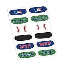 Baseball Tattoo Favors 12ct