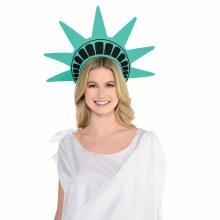 Patriotic Lady Liberty Foam Headbad