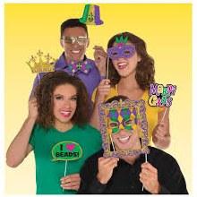 Mardi Gras Photo Prop Kit