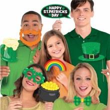 Photo Prop Kit St Patricks Day 13pc