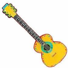 Mariachi Guitar Inflatable
