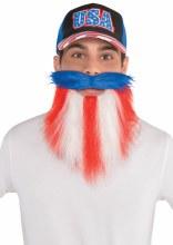 Patriotic Beard RWB