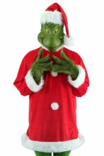 Deluxe Grinch Costume ~ L/XL