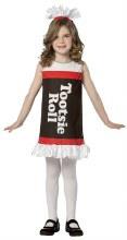 Tootsie Roll Dress Child 4-6X