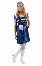 Dr. Who Tardis Dress L/XL