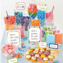Sweets & Treats Buffet Decorating Kit