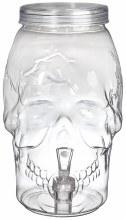 Drink Dispenser Skull Shaped 1 Gallon