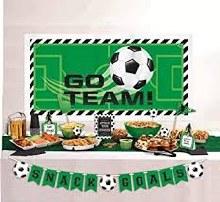 Soccer Deluxe Buffet Decor Kit 15pc