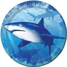 Shark Splash 7in Plate 8ct