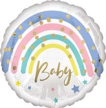 MYLR Pastel Baby Rainbow 18in