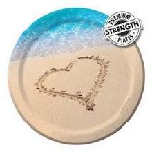 Beach Love 7in Plates