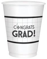 Congrats Grad 16oz Plastic Cups