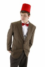 Dr. Who Fez and Bowie Set