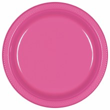 Bright Pink 7in Pl. Plates
