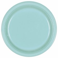 Robins Egg Blue 7in Pl. Plates