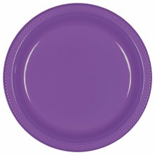 Purple 7in Pl. Plates