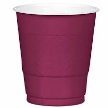 Berry 12oz Plastic Cups 20ct