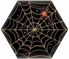 Web Hexagonal 7in Plt