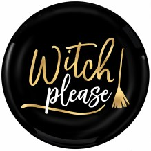Witch Please 7.5in Plt