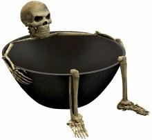 Boneyard Skeleton Bowl Plastic