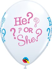 """Baby Mystery He Or She? ~ Matte Finish 11"""""""