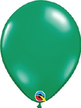 "11"" Jewel Emerald Green (Transparent)"